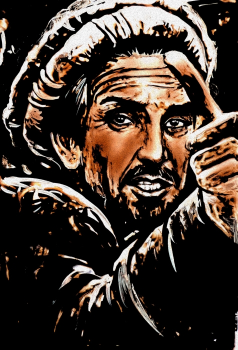 Ahmad Shah Massoud por mariebouldingue